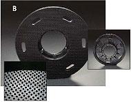 """MALISH 13/"""" POLYPROPYLENE CARPET BRUSH w//NP-9200 PLATE fits most 15/"""" machines"""